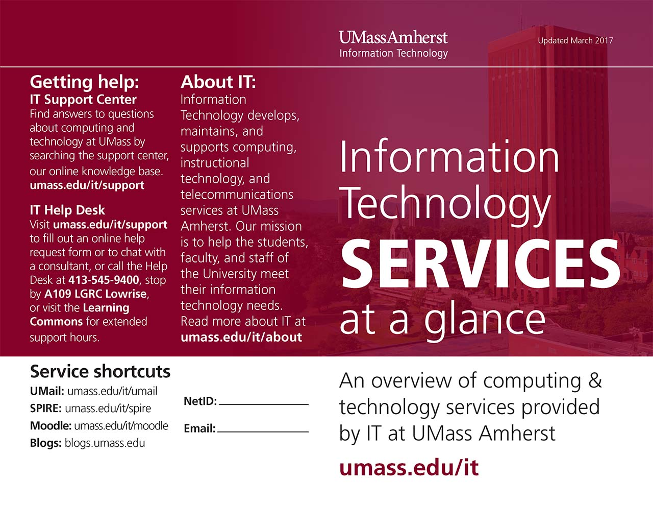 It Services Brochure Tom Howe